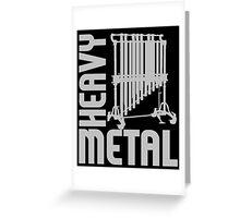HEAVY METAL-2 Greeting Card