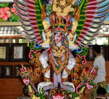 Bali Statue. Sticker