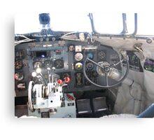 Cockpit C47 (DC3 ) Dakota RAAF Metal Print