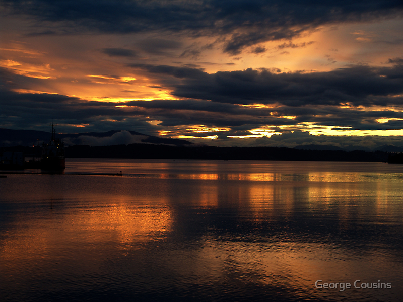 Just another sunset. by George Cousins