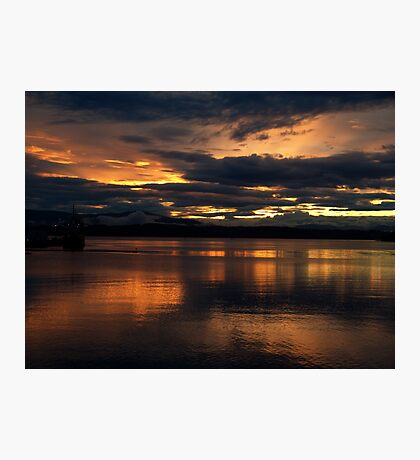 Just another sunset. Photographic Print