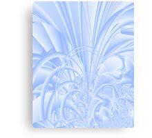 Icy Window Canvas Print