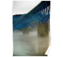 Peace River Bridge Poster