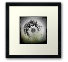 A tree in winter... Framed Print