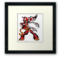 Kaoroko (Kid Soldier Picture) Framed Print