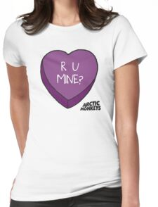 R U MINE? Womens Fitted T-Shirt