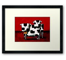 Baby Bull Production Framed Print
