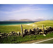 The Hills of Harris - Western Isles Photographic Print