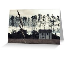 The House on Toppings Hill Greeting Card