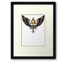 Tri Winged Framed Print