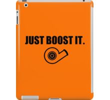 Just Boost It. iPad Case/Skin