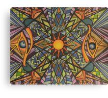 Third Eye Sunshine  Canvas Print