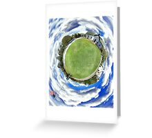 Ashawagh Hall 360 Degree Panoramic Greeting Card