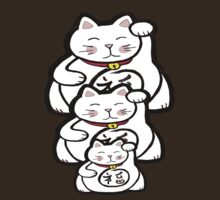 lucky cats by mylittlenative