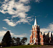 Western Wisconsin Church by kevinw