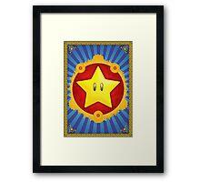 Arabesque Starman Framed Print