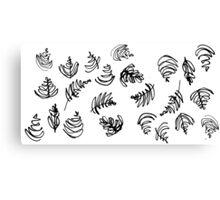 Free Pour - Pattern Edition Canvas Print