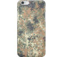 Flecktarn Camo Case, V.2  iPhone Case/Skin