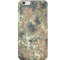 Flecktarn Camo Case, V.2  iPhone Case/Skin
