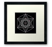 Metatron's Cube #1 Framed Print