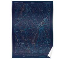 Maine USGS Historical Map Wytopitlock 306857 1943 62500 Inversion Poster
