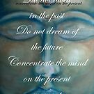concentrate the mind - buddha © 2008 patricia vannucci  by PERUGINA