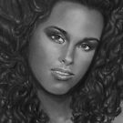 Alicia Keys  by Carliss Mora
