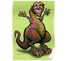 Obamasaurus Rex Poster
