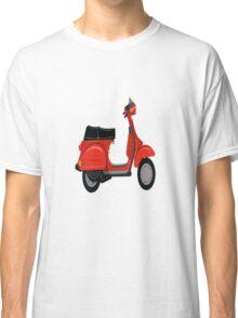 Vespa Scooter  Classic T-Shirt
