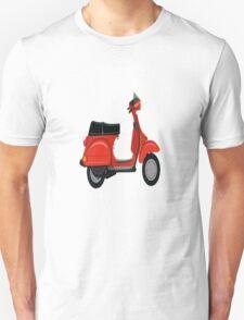 Vespa Scooter  Unisex T-Shirt