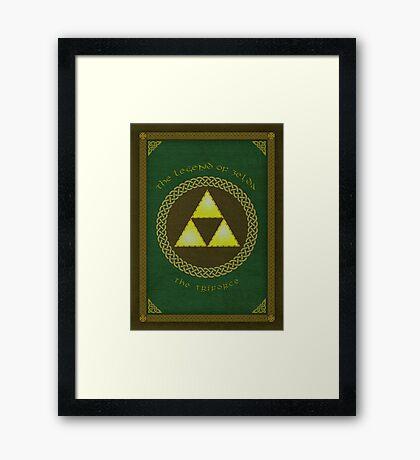 Celtic Triforce Framed Print