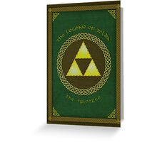 Celtic Triforce Greeting Card