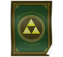 Celtic Triforce Poster