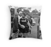 Giving Some Cheek Throw Pillow