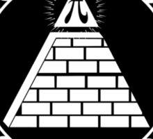 Pyramid Pi Day of the Century Illuminati Sticker