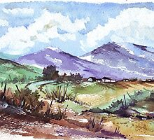 At the foothills of the Magalies Mountains by Maree  Clarkson