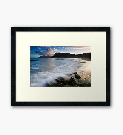 Fish Hoek Beach  Framed Print