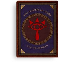 Celtic Eye of Sheikah Canvas Print