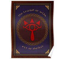Celtic Eye of Sheikah Poster