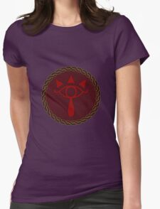 Celtic Eye of Sheikah Womens Fitted T-Shirt