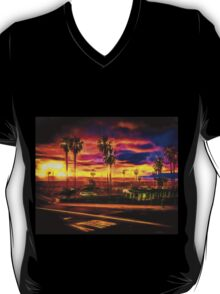 Inspired By A Faraway Sunset I Ran To The Beach T-Shirt