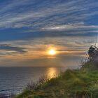 Sunrise - Lennox Head, Australia by Leigh Nelson