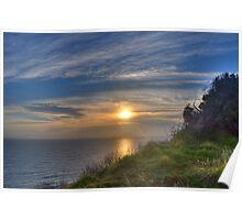 Sunrise - Lennox Head, Australia Poster