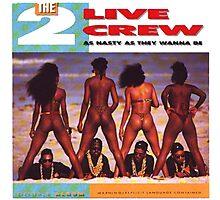 2 Live Crew Photographic Print