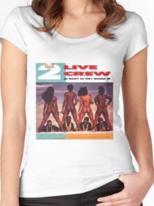 2 Live Crew Women's Fitted Scoop T-Shirt