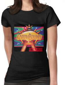 Earthbound & Down Womens Fitted T-Shirt