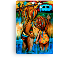 Summer Heat Canvas Print
