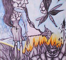 Fran Battles The Franetic by Brad Shevellar