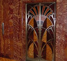 Door lift in Chrysler Building 's hall  by 29Breizh33