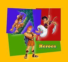 Disney Heroes by Gregory Wilson